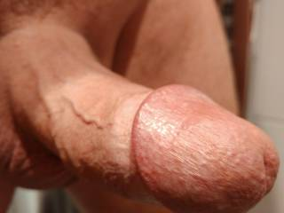 My freshly shaved cock. What would you do with this, ladies?