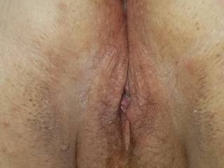 Would you like to taste this bbws freshly fucked pussy?