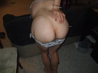 I would be there licking her ass and pussy, love her ass