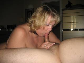 HOLY MANTRAP! ... the way she's got her hot lips wrapped around this dude's knob is superb. Bad luck for any dude who wants to save his load for her pussy .. shooting in her mouth would be inevitable! Instant blowjob favorite.