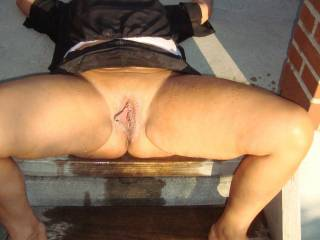 Do you squirt every time ? I do, and although it means lots of waterproofing when we're indoors, it's fab not to have to worry outdoors - great pic babe, and we do love the way your pussy looks it's incredibly yummy ....... Princess xx