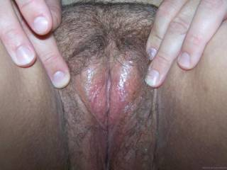 LOOKS SO NICE AND JUICY.... LOVE 2 SLIDE IT IN DEEP! WOULD ALSO LOVE 2 SEE YOUR AWESOME PUSSY SHAVED!!!!