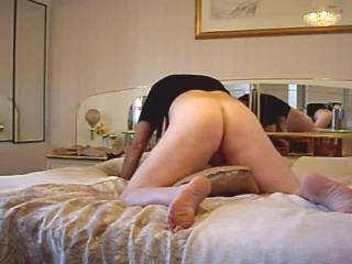 Fucking my Milfs hot wet horny pussy in her bedroom