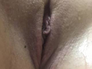 Soaking wet pussy from my hot steamy shower