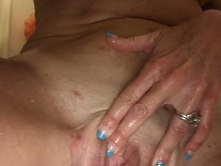 More playtime in the shower... so hot and wet and I'm not talking about the water. Lol