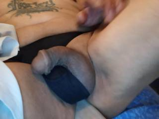 Just some free time enjoying the fuckin bliss of getting filled with my toy