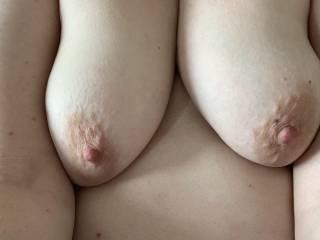 Hope you like my hard nipples x I love them chewed