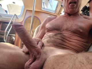 I get really horny on the boat sometimes!