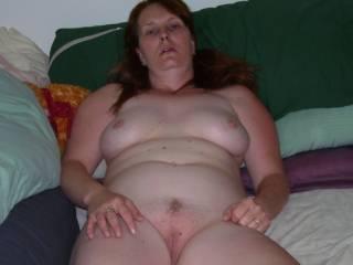 Just sitting around nude.