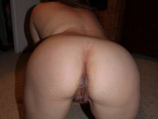 Would love to get my hands and lips on that sweet ass before giving her some more cream!!