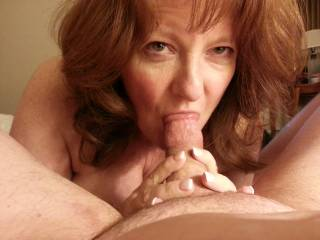 So beautiful and sexy wish it was my hard cum filled cock you where sucking on sexy lady Mmmmmmm