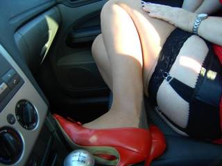 Incredible sexy,gorgeous Woman ,sexy nylons and heels , WOW