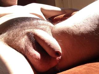 Catching rays naked at home. Wish i have some friends to share this sunny afternoon. Join me?