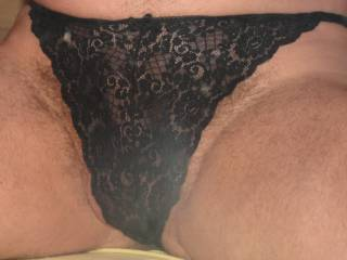 A closer view and you can just make out me getting a little horny in this one ! What do you think of this one ?