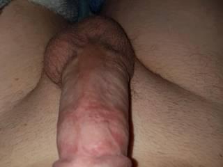 Feeling horny in bed