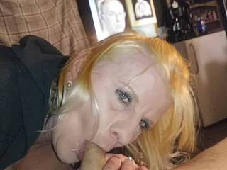She can suck dick all night