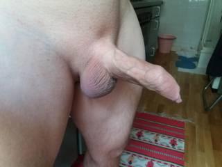 my uncut cock