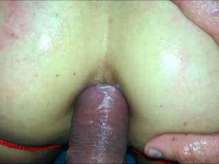 First time anal sex, oh I love her so much. Sorry for the audio missing. We filmed this a while ago and never thought we would upload it somewhere . The marks on her lovely butt she earned by being a naughty sub.
