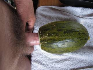 more and more deep pushing it into a fresh and fruity melon? any girl / milf who wants the cream?