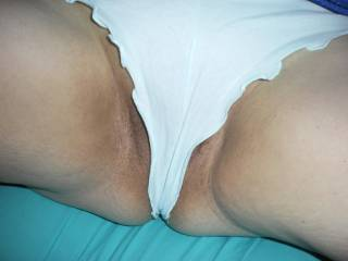 would love to sniff the wet spot in those panties as i jerk off for you