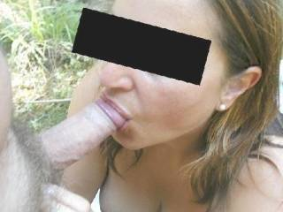 One of our favorites. Outdoorsex We love to receive back that pic with your cum or make a nice photoshop with your dick/cum