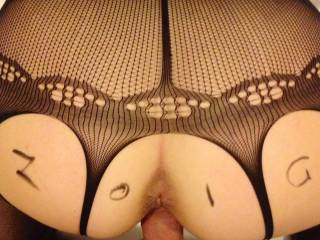 Awesome hot pic!  Luv the view of that sweet little arse has me craving to go next for mind blowing sloppy seconds!