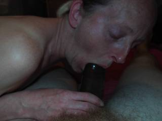 she just likes giving me a blowjob