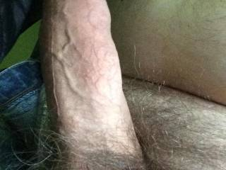 What an awesome big uncut cock !