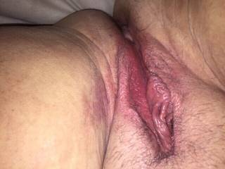That needs licking,and fucking some more Mrs dovegush