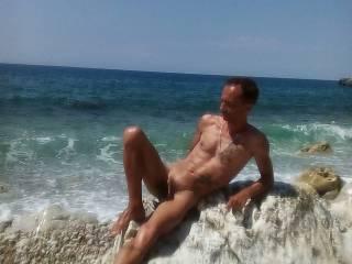 nude at beach