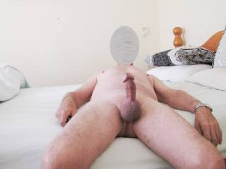 Have a 50mm stainless steel cock ring on around y cock and balls.   It is very tight but feels great.