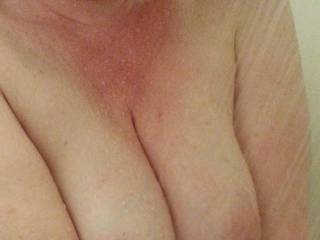 Do you think I have enough cleavage for you to play with?