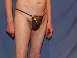 The man with the golden ......thong?