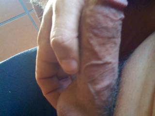 So hard the veins start to bulge on my solid cock.