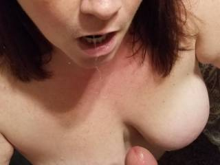She is a very dirty girl that loves sucking a nice cock!