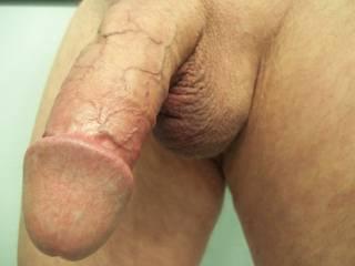 Veins, muscles rings and mushroom head add to pleasure.