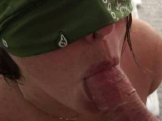 She loves to suck cock and swallow! What do you think of her skills?