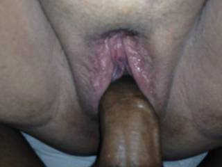 Virginia Wife Share:  I love the color contrast of me in her pussy. Her white thick pussy lips gripped around my BBC! She loved how I filled her pussy full of my BBC cum.