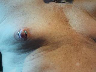 Serious nipple magnets doing their thing.