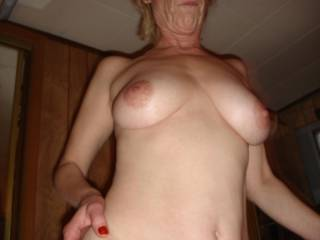 Your big firm tits never fail to give me a big firm cock.