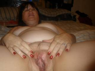 First i would use the dildo and get you nice and wet...then i would lick it until you cum and i would blow your mind with my large cock!!  you wanna try it?