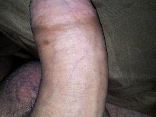 hubby nice and hard ready to fuck me and shoot a huge load of cum deep in me