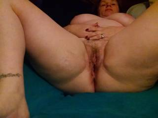 Do you want to stick your cock in my pussy?