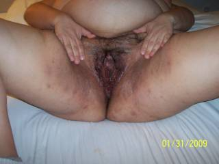 Would suck that pussy and ass till she squirted yummy thnx