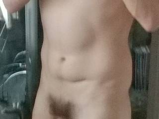 Quick pic after gym