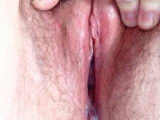 Leave that pussy nice and hairy. Love the natural look. So sexy.