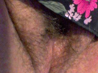 Pussy is so full of cum its almost exploding
