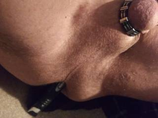Started shaving my balls then i dropped the electric razor...it went up my ass