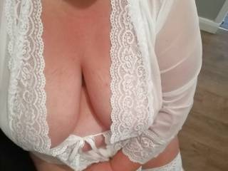 let me wank you over my boobs