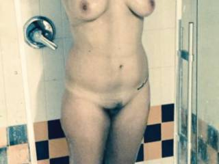 shower after  rimming an ass  fucking vids we done for zoig, he cum in my mouth on my face,I finger fucking his ass  2 fingers hit his gspot he jerks his cock on my cum soaked face an spunks my face/hair an wipes an cock slaps me.used like a slut
